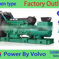 Volvo 300KW/375KVA diesel generator sets with high quality engine