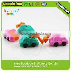 Cool Sandpile Car Puzzle Eraser Toy For Boys