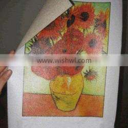 High resolution Glossy Pure Cotton Inkjet canvas picture