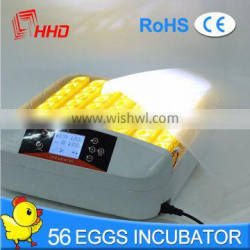 HHD Brand Auto Turning Chicken Egg Incubator Price in Dubai for Sale YZ-56S