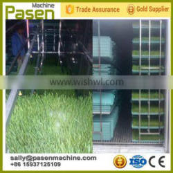 new type hydroponic seed sprouting machine / wheat planting equipment for sale