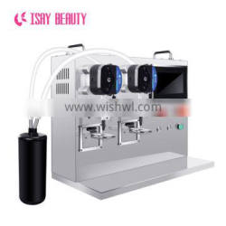 Automatically identify the weight base coat top coat dipping liquid painting gel filling machine