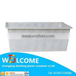 White one -time Made International Shopping Online Plastic Container