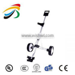 Light weight Design Hand Folding Golf Trolley With 2 Wheels