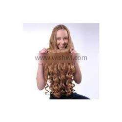 Natural Hair Line Natural Black Silky Straight Synthetic Hair Extensions 12 -20 Inch Natural Straight