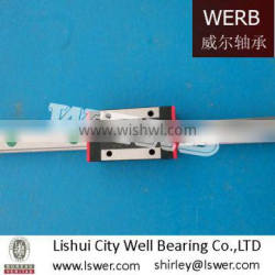 Linear guide and block width 20mm from China factory