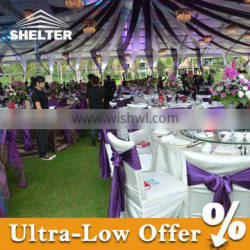 Well decorated event tent for sale