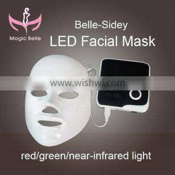 50% of buyers to choose (Magicbelle)!!!!! face skin care Led Photon Facial PDT mask/CE