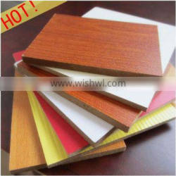 3-25mm Melamined Paper Particle Board