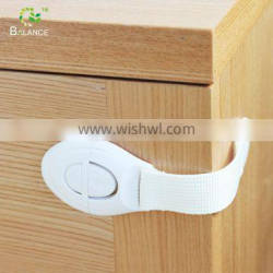 Push plastic cabinet lock for baby safety