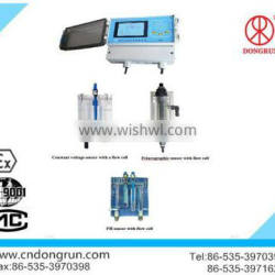 swimming pool and water works electronic chlorine tester
