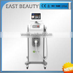 Painless face and body quick hair removal 808 diode laser