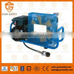 CE approved 200 bar / 300 bar high pressure air compressor for breathing apparatus MCH6/EM