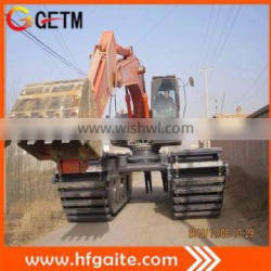 amphibious excavator for Sediment, weed control