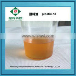 waste plastic to oil pyrolysis plant with ISO