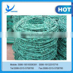 manufacturer hot sale galvanized PVC barbed wire