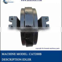 Excavator undercarriage parts front Idler for E200B