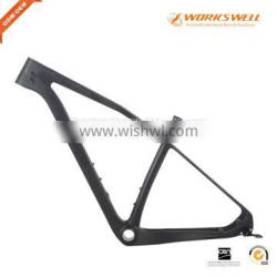New arrival carbon MTB bicycle frame light weight carbon fiber frame 1220g