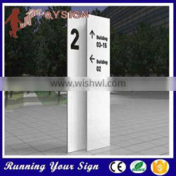Eye catchingdirection Big Square Directive Signs