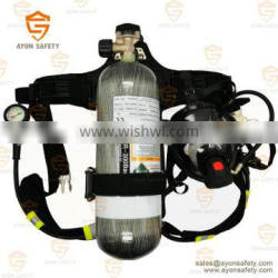 Self contained breathing apparatus(SCBA) Carbon fiber cylinder 9L-Ayonsafety