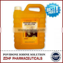 fish pond disinfectant povidone iodine 10% for aquaculture fish farming