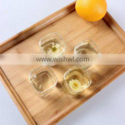 China Made Glassware Manufacturer Glass Pitcher Square Shape Glass Drinking Cup Set