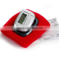 compact pedometer/time function