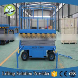 Hot sale in UK hydraulic mobile scissor lift table with CE