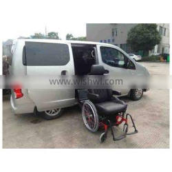S-LIFT-W swivel lifting seat with wheelchair carried for disabled and elder for van