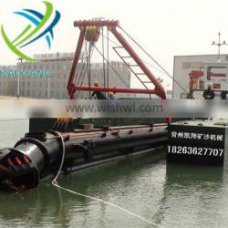 Working Capacity 250cbm/H Cutter Head Suction Dredger for Hot Sale