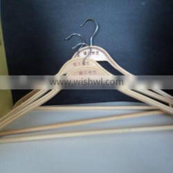 Reusable thick short/Clothes bamboo hangers
