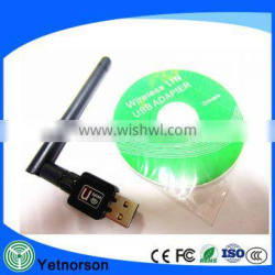 Yetnorson Best Sell Desktop USB Wireless Antenna for Indoor Antenna