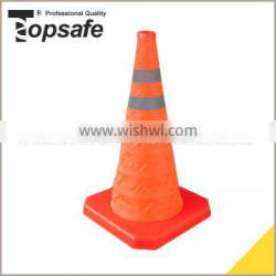 Promotional top quality factory supply pvc traffic cone