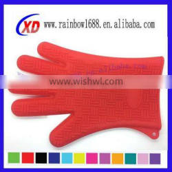 household silicone gloves,heat insulating gloves,FDA silicone oven mitts