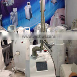 The most effective co2 fractional laser skin rejuvenation, RF tube with CE approval