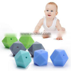 Soft Silicone Beads BPA Free Wholesale Sensory Toys High Quality Teething Beads For Child