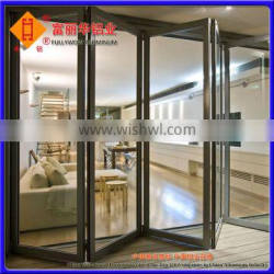 Injection-Plastic and Energy-Saving Aluminum Folding Door for Office Building