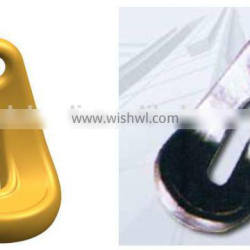 G80 eye bend hook for tie down chains