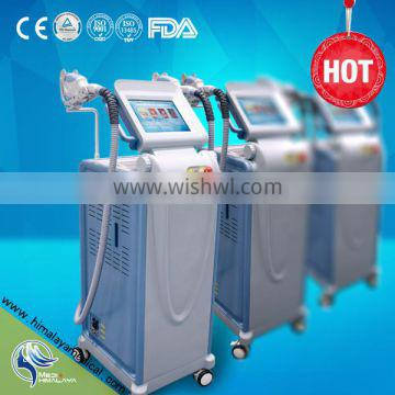 ipl elight hair removal and wrinkle removal machine with stronger coling system