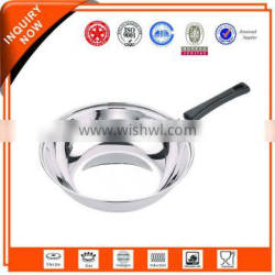 Cheap and high quality intelligent vacuum diamond coating frying pan