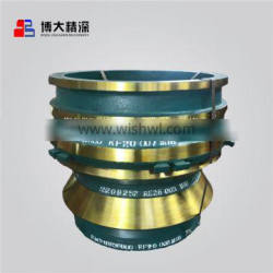 High Manganese steel Bowl liner for Cone crusher wear parts