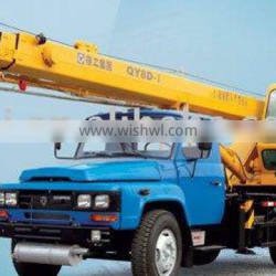 good quality mobile truck cranes QY8D with best price