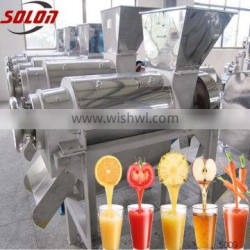 fresh fruits juice extractor stainless steel food processing machines