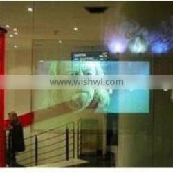ChariotTech transparent static film for window glass for adversiong