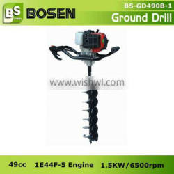 49cc 52cc 71cc Gas Hole Digging Machine with Alloy Driller