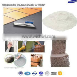 redispersible emulsible powder for wet mortar