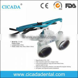 CICADA CE Approved new design surgical binocular loupes 2.5X 3.5X