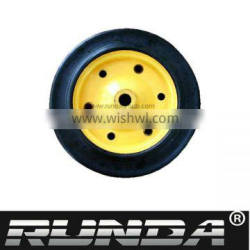 high quality solid rubber wheel for wheelbarrow
