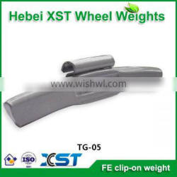clip on for steel wheel weight