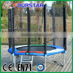 High quanlity new cheap 6ft kids mini trampoline for sale